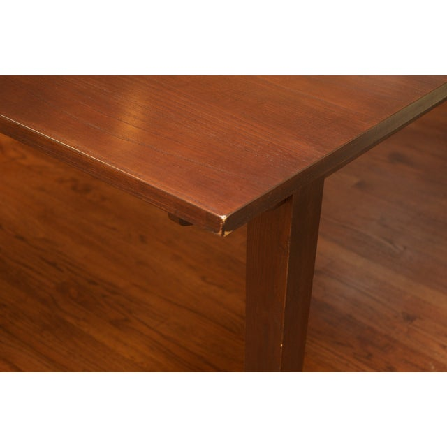 Ethan Allen Horizon Collection Dining Table - Image 6 of 8