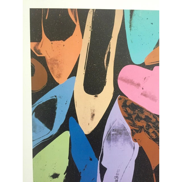 "Contemporary Andy Warhol ""Diamond Dust Shoes"" Offset Lithograph For Sale - Image 3 of 9"