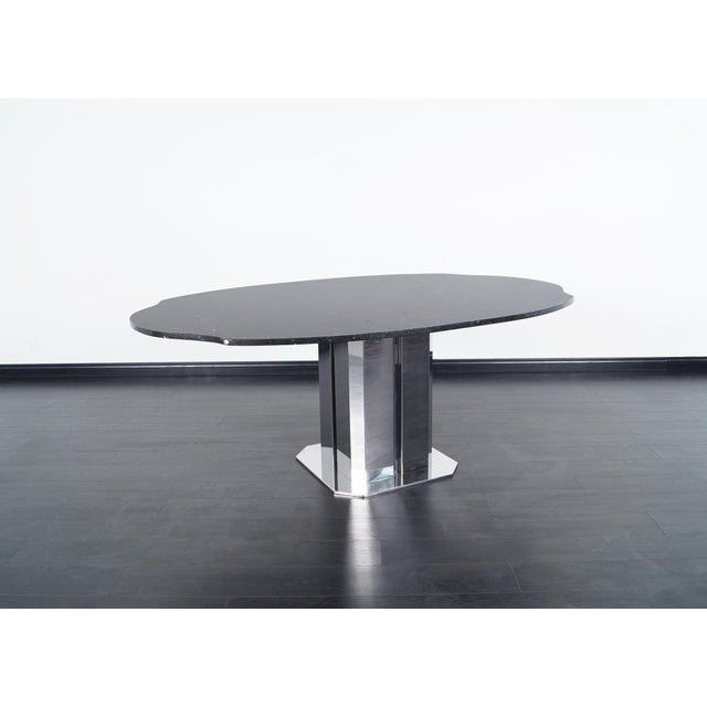 Antonia Astori Exceptional Italian Dining Table For Sale - Image 4 of 8