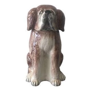Dog Cookie Jar by Mancer For Sale