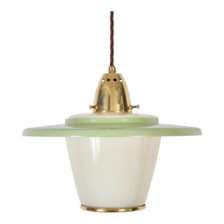 Petite Mid Century Lantern, Switzerland 1950s For Sale