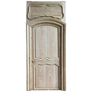 18th Century Louis XV Pine Door in Frame For Sale