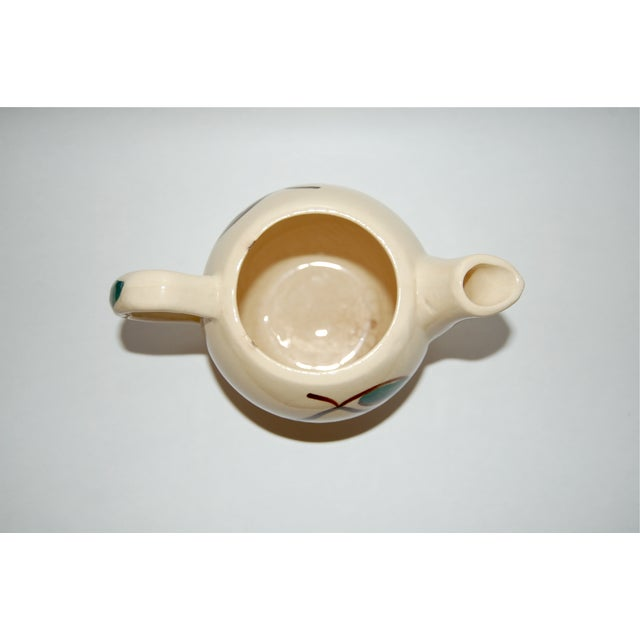 Vintage Pear & Apple Teapot For Sale - Image 5 of 7