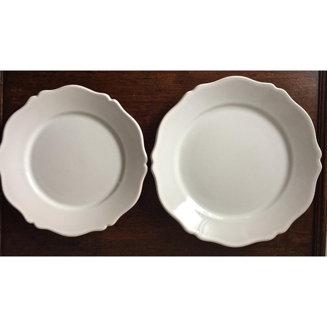 55 Piece-Rouard French Faience Glazed Terra Cotta Dinnerware-1950's - Image 4 of 8