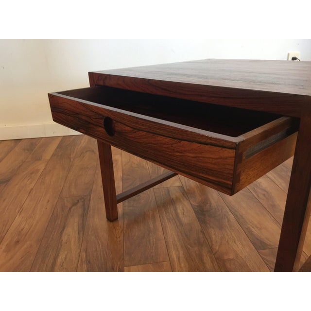 Brode Blindheim Rosewood End Table - Image 8 of 9