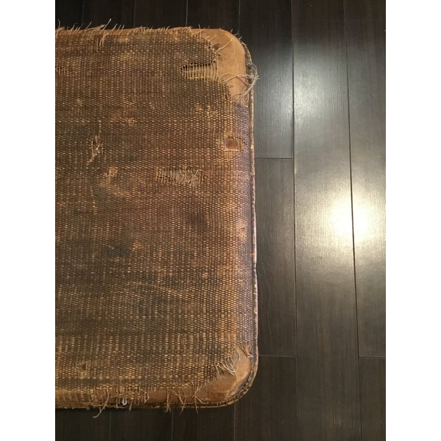 20th Century Asian Antique Scorched Bamboo Trunk For Sale - Image 10 of 13