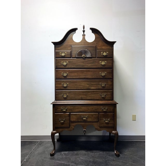 Pennsylvania House Solid Cherry Queen Anne Highboy Chest - Image 2 of 11