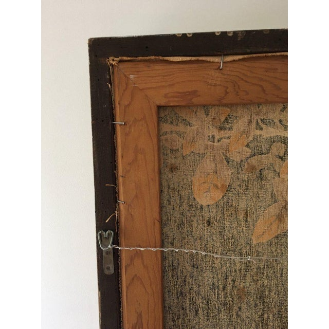 Jean Lurcat Mid-Century Modern Framed French Rooster Tapestry For Sale - Image 10 of 11
