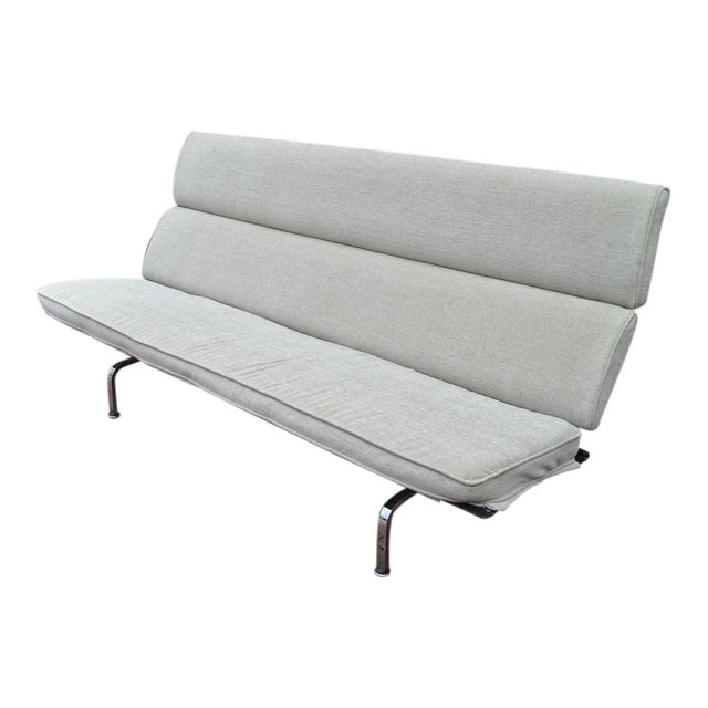 Charles Eames Compact Sofa for Herman Miller For Sale
