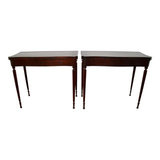 Console Game Tables by Charak Circa 1930 - A Pair For Sale
