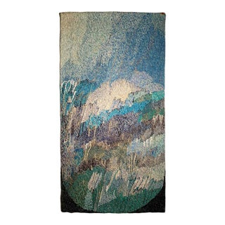Scandinavian Hanging Wall Tapestry by Mariann Kallas For Sale