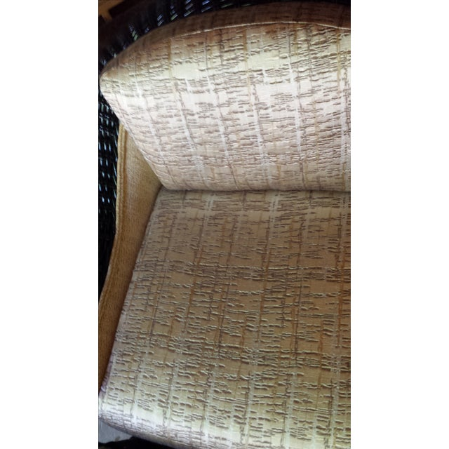 Casa Bella Chair and Ottoman For Sale - Image 7 of 7