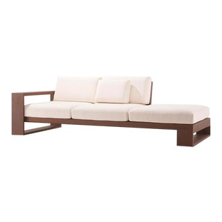 Brazza White Outdoor Sofa For Sale