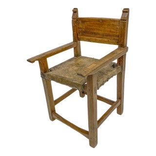 19th Century Spanish Colonial Chair For Sale