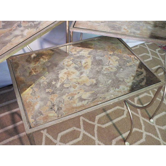 Mitchell Gold Bob Williams Nested Tables - Image 6 of 10
