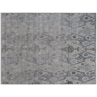 Stark Studio Rugs Traditional New Oriental 50% Wool/50% Silk - 10′1″ × 14′6″ For Sale