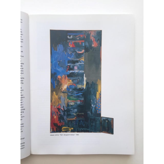 """"""" Moderna Museet Stockholm 1958 - 1983 """" Rare Vintage 1st Edition 25th Anniversary Collector's Modern Art Book For Sale - Image 9 of 13"""