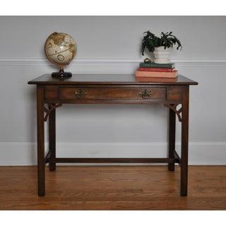 Kittinger Colonial Williamsburg Adaptation Mahogany Writing Desk Preview