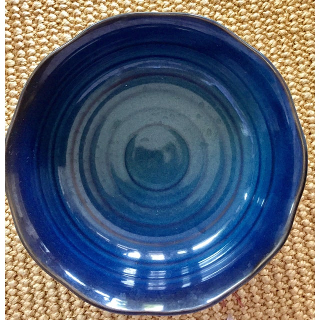 Japanese Blue & White Ceramic Bowls - Set of 10 - Image 5 of 10