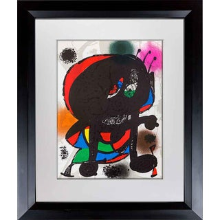 1977 Joan Miro Original Cat. Ref. C230 Lithograph For Sale