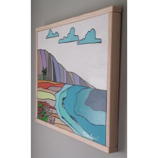 """""""Hawaiian Beach"""" Block Art by Kris Gould - Image 5 of 5"""