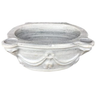 Antique Marble Sink | Reclaimed Marble Hamam Vessel Sink For Sale