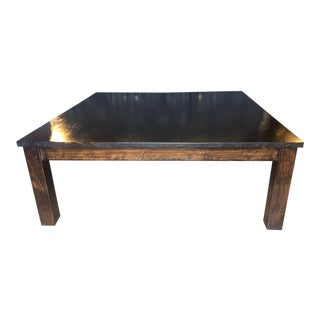 20th Century Contemporary Walnut Cocktail Table
