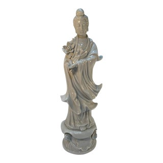 Vintage Otagiri Kwan Yin Figurine For Sale