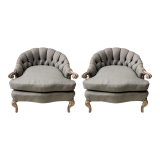 Pair of French Style Chairs