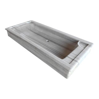 Oblong Turkish Marble Sink | Marble Farm Sink For Sale