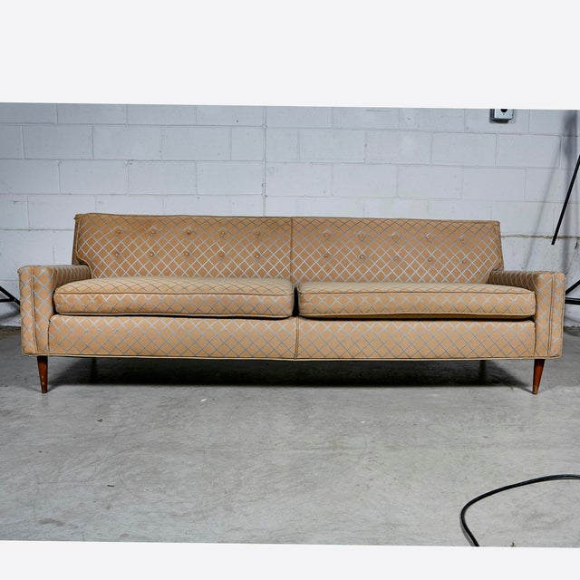 Marvelous Vintage Mid Century Modern Low Back Couch Sofa Machost Co Dining Chair Design Ideas Machostcouk