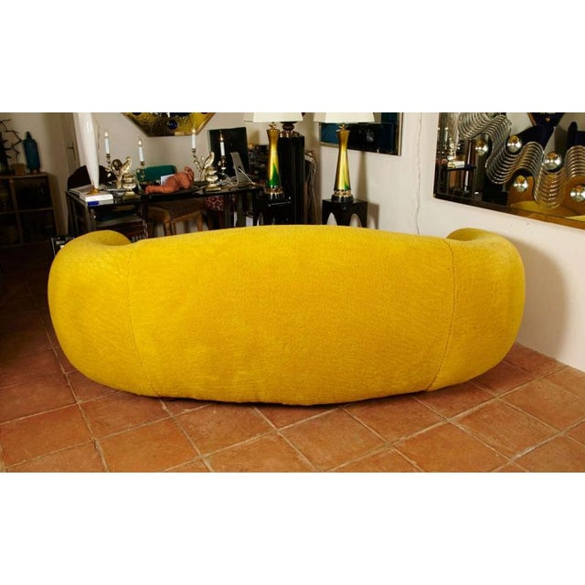 """Mid-Century Modern Jean Royère Genuine Iconic """"Ours Polaire"""" Couch For Sale - Image 3 of 11"""