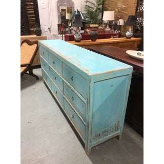 Distressed Blue 9 Drawer Dresser Preview