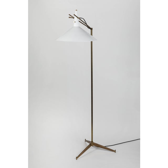 Rare 1954 Paul McCobb floor lamp for Directional. This exceptional early floor lamp was designed by the legendary McCobb...