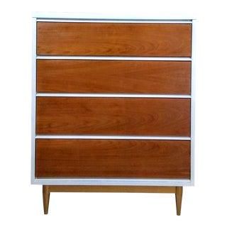 Vintage Mid-Century Modern Dresser White Dresser Industrial Loft Minimal Bohemian Modern Furniture Retro