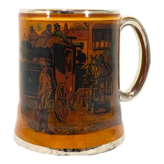 1920s-30s English Mug by Lancaster & Sons English For Sale