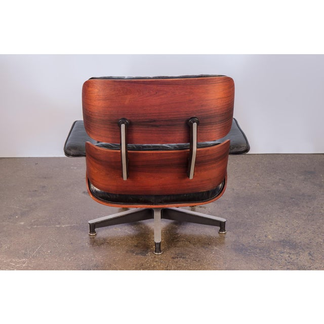 Second Generation 1960s Eames 670 Lounge Chair for Herman Miller For Sale In New York - Image 6 of 11
