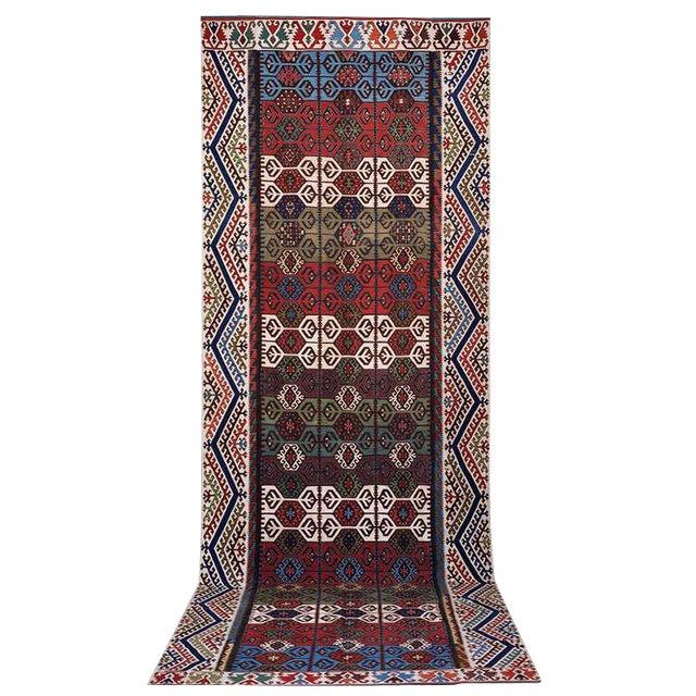 Impressive Antique Konya Kilim For Sale