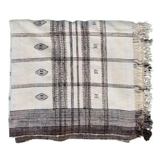 Hand Woven Wool Bed Cover