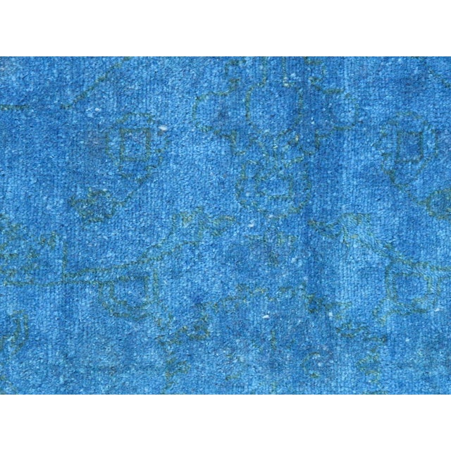 "Blue Over-Dyed Rug - 6'1"" X 8'11"" - Image 2 of 4"