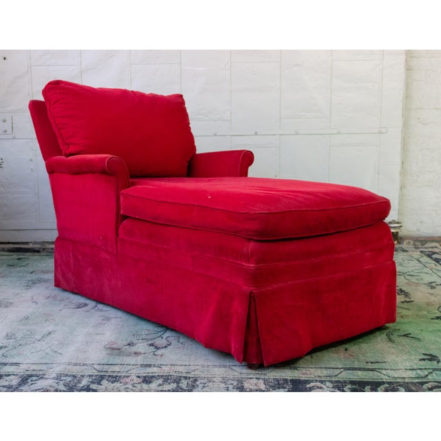 Small Ladie's Chaise Longue For Sale - Image 10 of 11