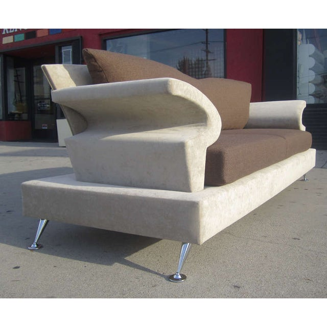 Sculptural Memphis Style Sofa by B&B Italia - Image 4 of 7