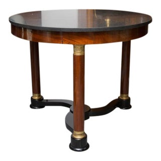 19th Century French Empire Center Table For Sale