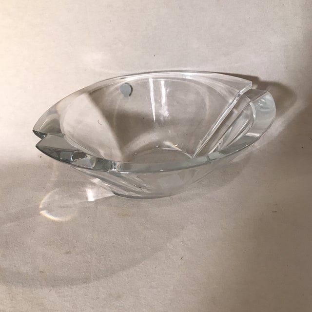 Beautiful Waterford crystal bowl from Waterford, Ireland. Made of lead crystal.