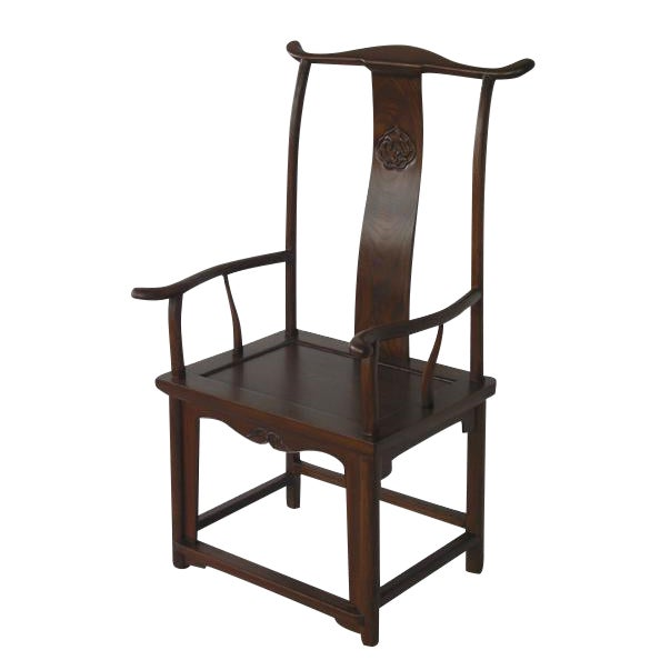 Chinese High Yokeback Armchair For Sale