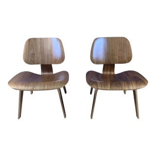 "Charles & Ray Eames ""Lcw"" Lounge Chair, Herman Miller For Sale"