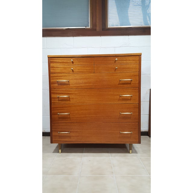 Vintage Refinished R-Way Chest of Drawers - Image 10 of 11