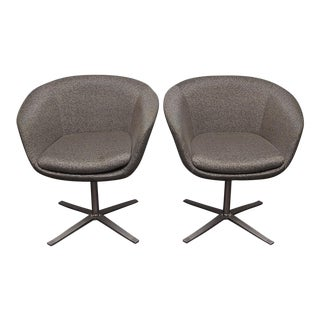 Pair of Bob Swivel Chairs by Pearson Lloyd for Coalesse For Sale