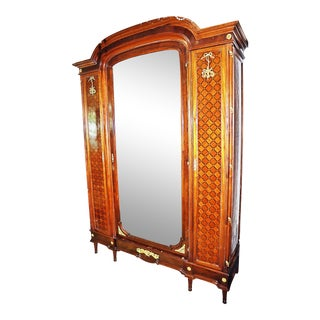 French Louis XVI Style Armoire For Sale