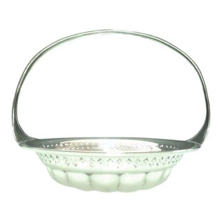 Early 20th C. Antique Weidlich Sterling Silver Caddy Dish For Sale